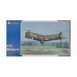 "SPECIAL HOBBY SH48088 1/48 H-21 Workhorse ""German and French Service"""
