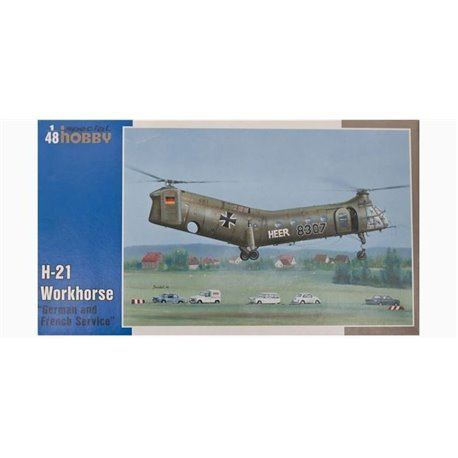 """SPECIAL HOBBY SH48088 1/48 H-21 Workhorse """"German and French Service"""""""