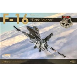 "KINETIC 49002 1/48 F-16MLU ""Dark Falcon"" Belgian Air Force"
