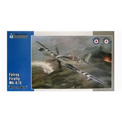 "SPECIAL HOBBY SH48136 1/48 Fairey Firefly Mk.4/5 ""Korean War"""