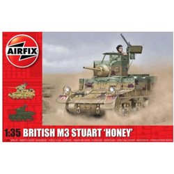 AIRFIX A1358 1/35 M3 Stuart - Honey (British Version)