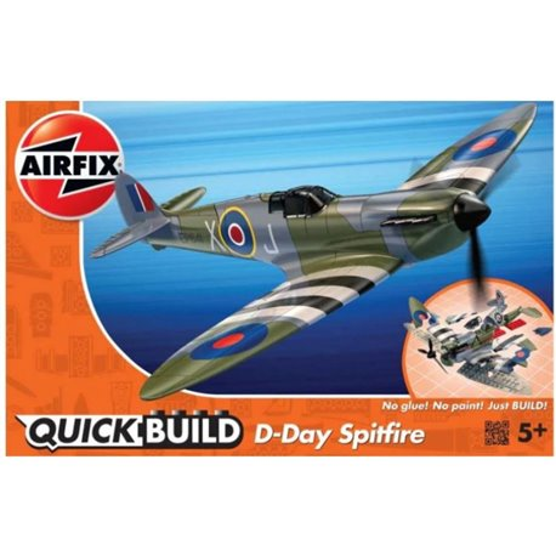 AIRFIX J6045 1/43 Quick Build D-Day Spitfire