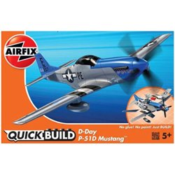 AIRFIX J6046 Quick Build D-Day P-51D Mustang