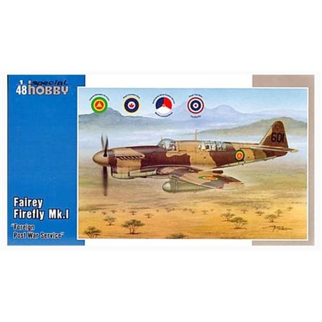 """SPECIAL HOBBY SH48151 1/48 Fairey Firefly Mk.I """"Foreign Post War Service"""""""