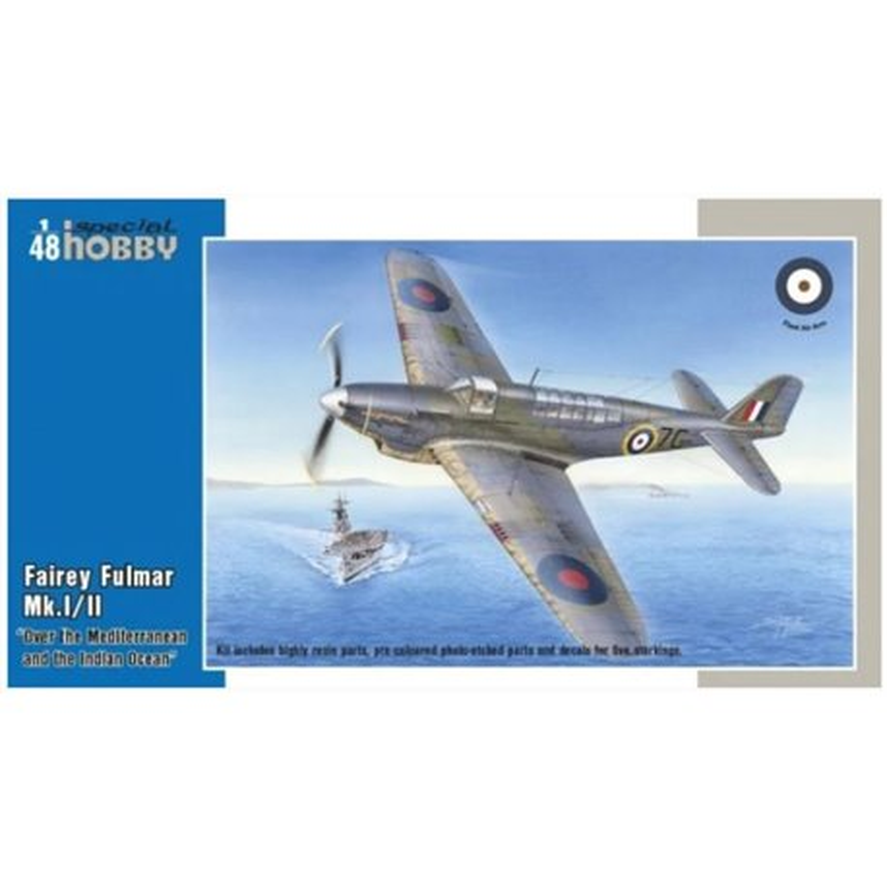 SPECIAL HOBBY SH48157 1/48 Fairey Fulmar Mk. I/II Hi-Tech version