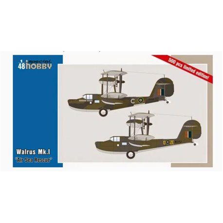 "SPECIAL HOBBY SH48163 1/48 Walrus Mk.1 ""Air Sea Rescue"""