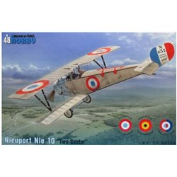 "SPECIAL HOBBY SH48184 1/48 Nieuport 10 ""Two Seater"""