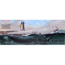 SPECIAL HOBBY SN72002 1/72 Special Navy U-Boot Typ IIA