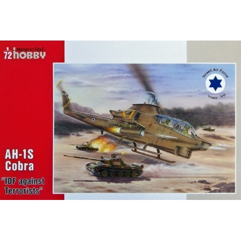 SPECIAL HOBBY SH72277 1/72 AH-1S Cobra IDF