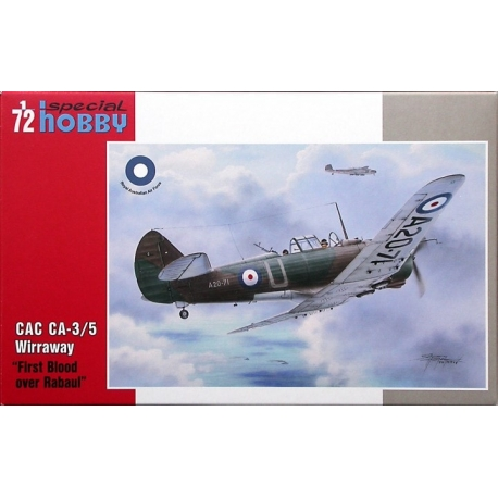 SPECIAL HOBBY SH72331 1/72 CAC CA-3/5 Wirraway First Blood over Rabaul