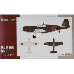 "SPECIAL HOBBY SH72225 1/72 Mustang Mk.I ""Red Stars"""