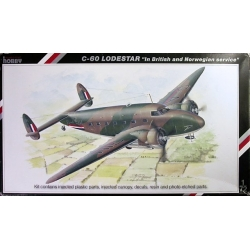 "SPECIAL HOBBY SH72112 1/72 C-60 Lodestar ""In British and Norwegian service"""