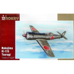 """SPECIAL HOBBY SH72199 1/72 Nakajima Ki-115 """"Battle of Tokio 1946"""""""