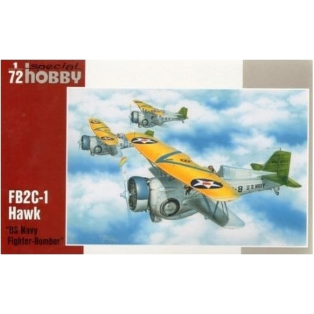 SPECIAL HOBBY SH72222 1/72 Curtiss BF2C-1 Hawk III US Navy Fighter-Bomber