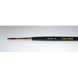 Springer 2754 Pinceau plat Poil de Martre 1 - Pure Sable Brush
