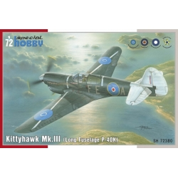 SPECIAL HOBBY SH72380 1/72 Kittyhawk Mk.III