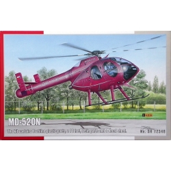 SPECIAL HOBBY SH72348 1/72 MD-520N NOTAR