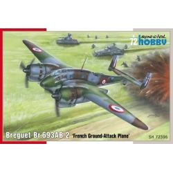SPECIAL HOBBY SH72396 1/72 Breguet Br.693AB.2 French Ground-Attack Plane