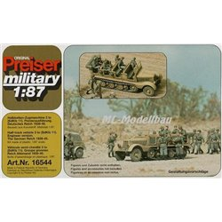 PREISER 16544 HO 1/87 Half-track Engineer Version German