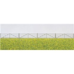 PREISER 17604 HO 1/87 Shepherd´s fences. 20 parts, each 44 mm long