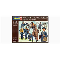 REVELL 02620 1/48 Pilots & Ground crew Royal Air Force WWII