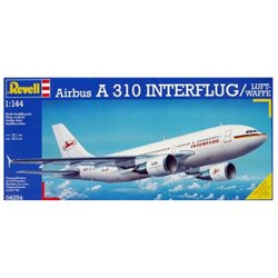 REVELL 04254 1/144 Airbus A310 Interflug / Luftwaffe