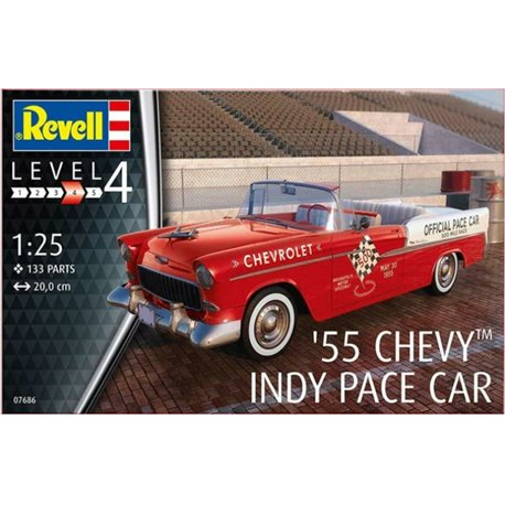REVELL 07686 1/25 '55 Chevy Indy Pace Car