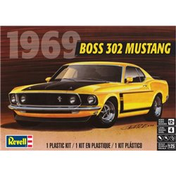 REVELL 85-4313 1/25 1969 Boss 302 Mustang