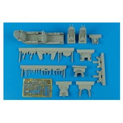 AIRES 4551 1/48 F-5F Tiger II cockpit set AFV Club