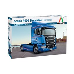 ITALERI 3947 1/24 Scania R400 Streamline Flat Roof