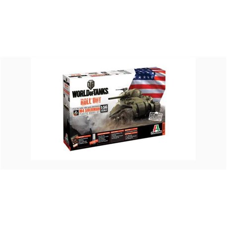 ITALERI 56503 1/56 World of Tanks M4 Sherman
