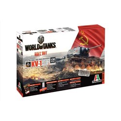 ITALERI 56505 1/56 World of Tanks KV-1 / KV-2