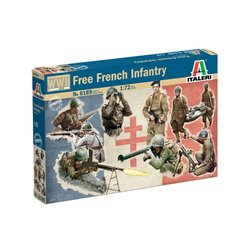 ITALERI 6189 1/72 Free French Infantry