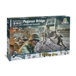 ITALERI 6194 1/72 Pegasus Bridge D.Day 75 years 1944-5019 Battle Set