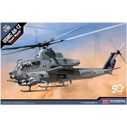 "ACADEMY 12127 1/35 USMC AH-1Z ""Shark Mouth"""