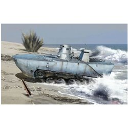 DRAGON 6916 1/35 IJN Type 2 Ka-Mi Amphibious Tank w/Floating Pontoon Early Prod