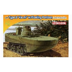 "DRAGON 7486 1/72 IJN Type 2 ""Ka-Mi"" w/Floating Pontoon late production"