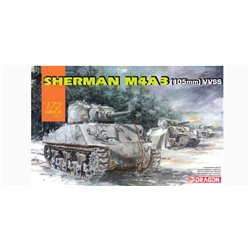 DRAGON 7569 1/72 Sherman M4A3 (105mm) VVSS