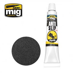 AMMO BY MIG A.MIG-2034 ANTI-SLIP PASTE - BLACK COLOR FOR 1/72 & 1/48 20ml