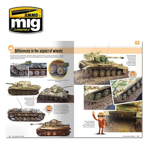 AMMO BY MIG A.MIG-6210 MODELLING SCHOOL - HOW TO MAKE MUD IN YOUR MODELS Anglais