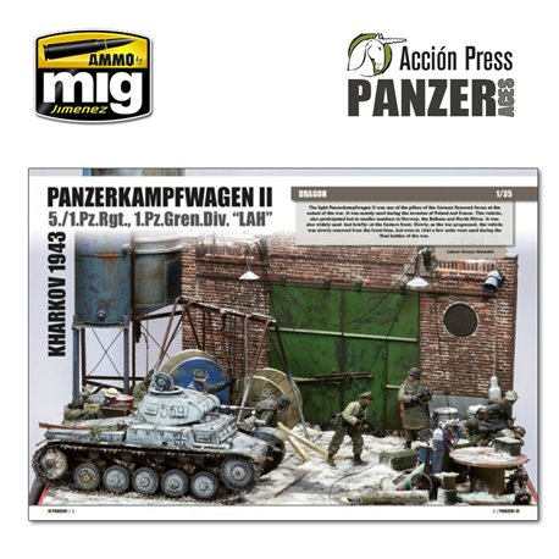 AMMO BY MIG PANZ0059 PANZER ACES Nº59 Anglais