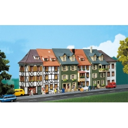 Faller 130430 HO 1/87 6 Maisons en relief - 6 Relief houses