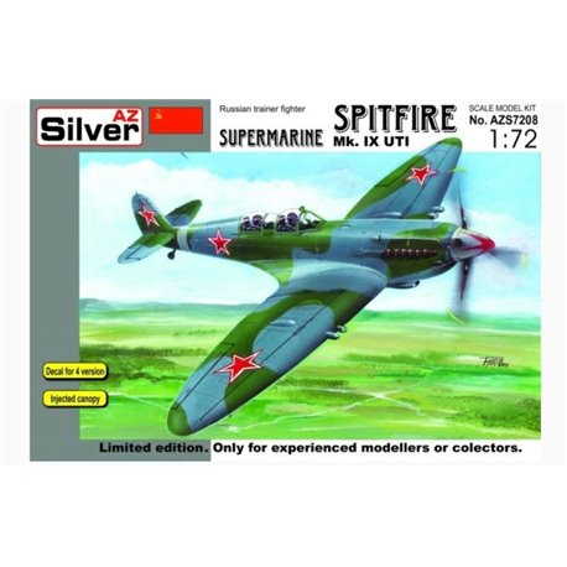 AZ MODEL 7208 1/72 Supermarine Spitfire Mk.IX UTI Limited edition