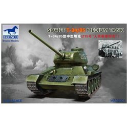 BRONCO MB32001 1/32 T-34/85 Soviet Medium Tank