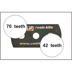 CMK H1004 Scie Lisse et Très lisse – Ultra smooth and extra smooth saw (2 sides) 5pcs