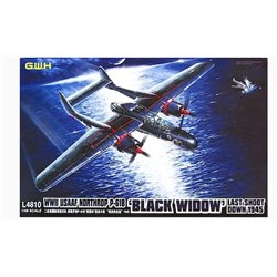 GREAT WALL HOBBY L4810 1/48 Northrop P-61B Blck Widow USAAF Last Shoot Down 1945