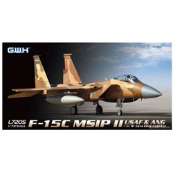 GREAT WALL HOBBY L7205 1/72 McDD F-15C Eagle MSIP II USAF & ANG*