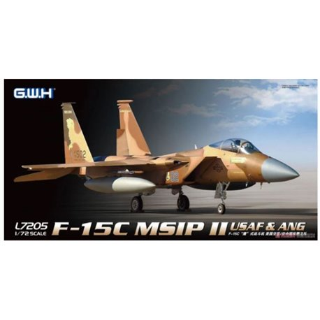 GREAT WALL HOBBY L7205 1/72 McDD F-15C Eagle MSIP II USAF & ANG