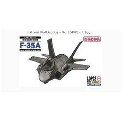 GREAT WALL HOBBY LDP02 Egg JASDF F-35A