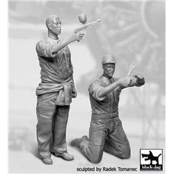 BLACK DOG F32063 1/32 Mechanics personnel USAAF 1940-1945 Set N°2